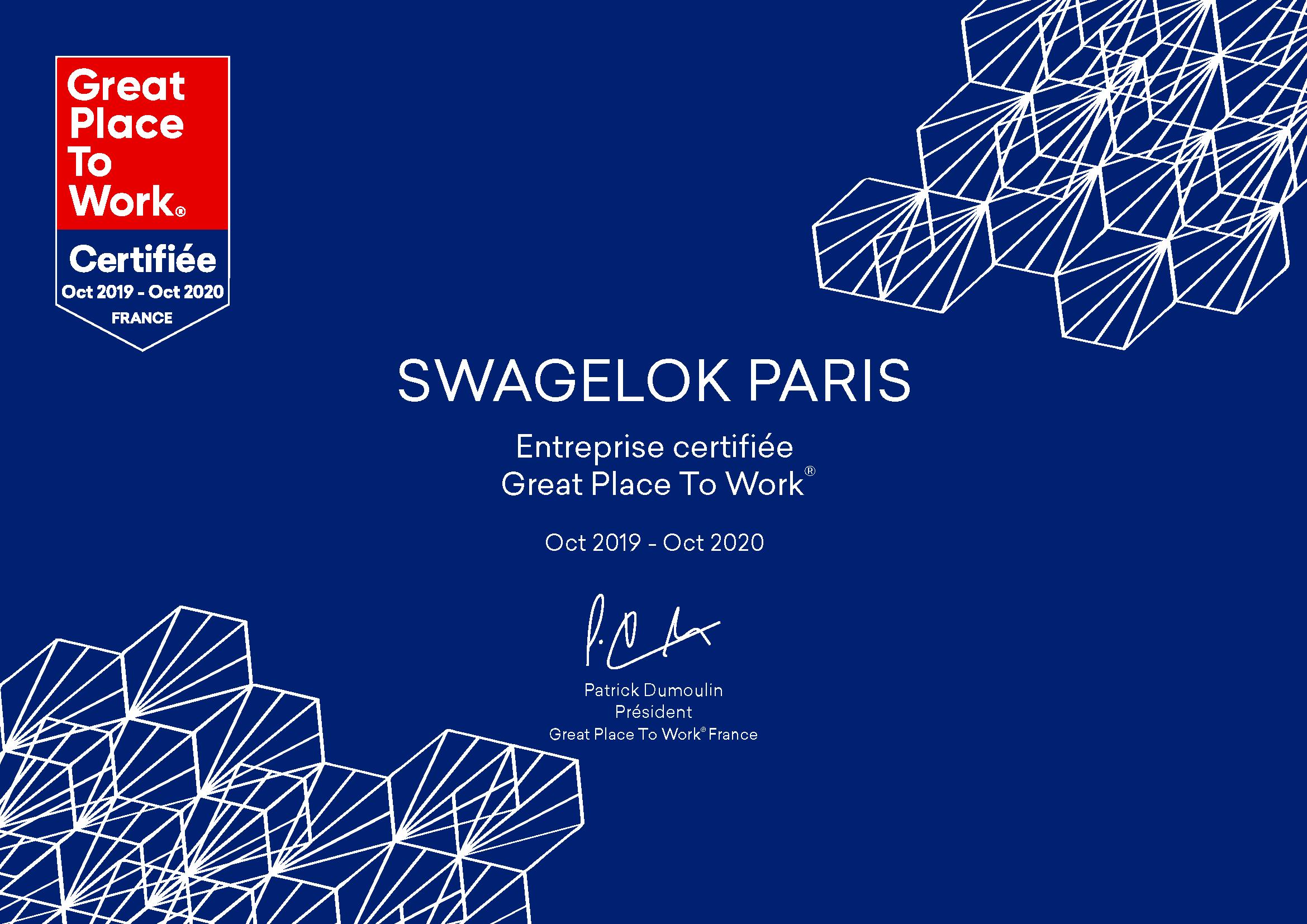GPTW_Certification_Diplome_SwagelokParis